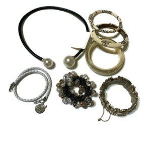 White theme wearable craft harvest lot